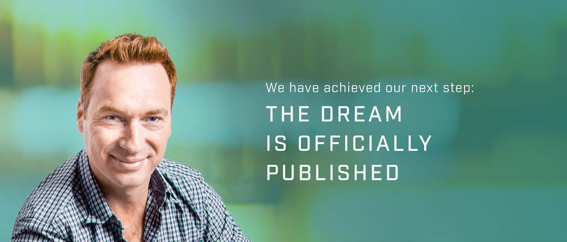 THE DREAM book is officially published